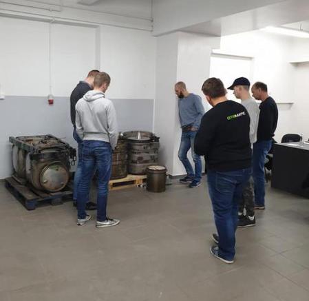 szkolenie otomatic maszyny