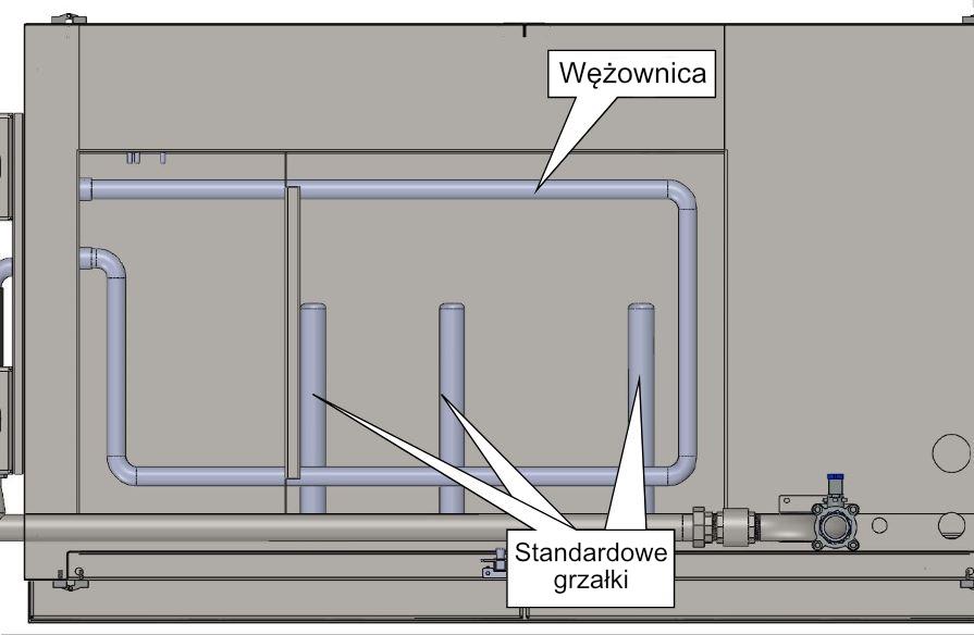 wężownica, instalacja centralnego ogrzewania wody, otomatic maszyny
